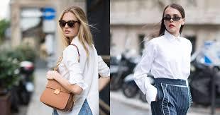 <b>8</b> идеальных белых <b>рубашек</b> на все случаи жизни