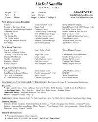 musical theatre resume templatesample acting resume actors resume template word acting resume sample musical theatre resume