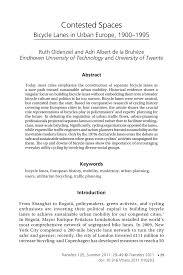 """(PDF) Oldenziel, Ruth, and Adri A. de la Bruhèze. """"Contested ..."""