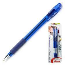 <b>Ручка шариковая Pentel Feel</b> it! 0,5мм, синий, 2шт.блистер