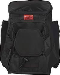 Rawlings Players Backpack R600, Black: Sports ... - Amazon.com