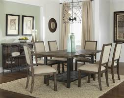 liberty dining set franklin counter height gathering table  piece dining set in rustic br