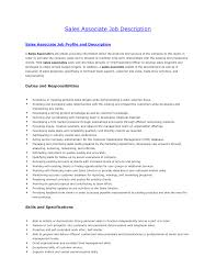 s associate resume duties sample customer service resume