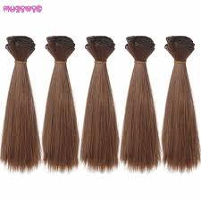 1/3 1/4 1/6 <b>bjd Doll Wigs Heat</b> Resistant Synthetic doll wig hair Silver