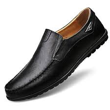 Summerdress <b>Genuine Leather</b> Men Casual Shoes <b>Luxury Brand</b> ...