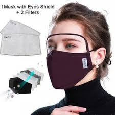 2020 NEW Cotton Mask Dustproof Protective Mask with Eyes ... - Vova