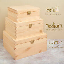 Wooden Brown Home <b>Storage Boxes</b> for sale | eBay