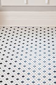 Kitchen Bathroom Flooring A Deserving Akron Familys Rehab Addict Makeover Hexagons Black