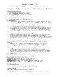 entry level marketing and s resume