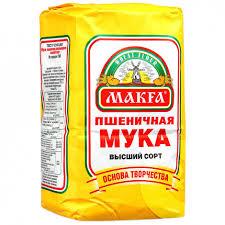 """<b>Мука</b> """"<b>Макфа Пшеничная</b>"""", 2 кг, Россия   Супермаркеты «Золотой ..."""