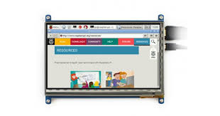 <b>7inch Capacitive Touch</b> Screen Raspberry Pi