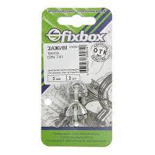 Купить <b>Зажим троса</b> Fixbox <b>DIN 741 3 мм</b>, 2 шт с доставкой по ...