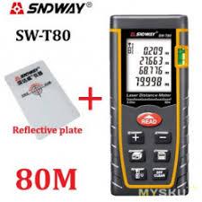 Лазерный <b>дальномер SNDWAY SW-T80</b> (80м). Тестирование в ...