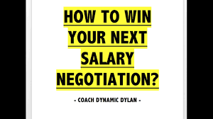 how to negotiate a higher salary coaching exercise  7 how to negotiate a higher salary coaching exercise 7