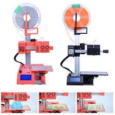 <b>Winbo</b>® 105 red/black mini portable power saving diy 3d printer 105 ...