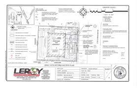 civil engineering engineers leroy surveyors and engineers inc sfr raingarden example