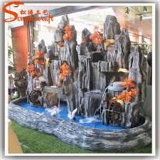 Fontana Cascata Da Giardino : Ingrosso fontane paesaggio decorativo cascate e