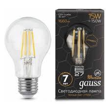 Светодиодная <b>лампа Gauss LED Filament</b> Graphene A60 E27 ...