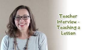 teacher interview teaching a lesson