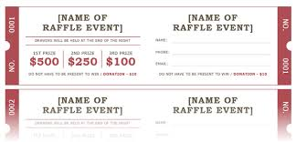 How to Get a Free Raffle Ticket Template for Microsoft Word microsoft raffle ticket template