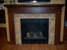 Stacked Stone Fireplace Surround : Home Fireplaces Firepits ...