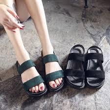 <b>Sandals</b> female <b>summer</b> wild flat <b>shoes platform Roman shoes</b> ...