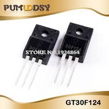 50pcs/lot Free shipping GT30F124 30F124 TO-220F new original IC ...