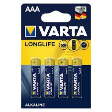 <b>Батарейка Varta Long Life</b> LR03 ААА 4 шт купить недорого в ...