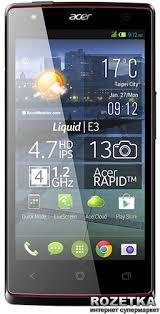 Rozetka.ua | Acer Liquid E3 DualSim Black. Цена, купить Acer ...