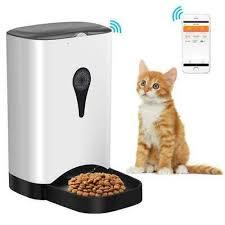 Smart <b>Pet Feeder WiFi</b> Automatic Dog Cat Food Feeder <b>4.5L</b> Works ...