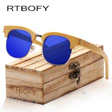 Polycarbonate <b>RTBOFY</b> Wood Sunglasses Men Retro Trend Sun ...