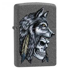 ROZETKA | <b>Зажигалка Zippo Wolf</b> Skull Feather <b>Design</b>, 29863 ...