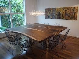 chair dining tables room contemporary:  table dining room contemporary with lights metal dining chairs image by dorlom construction