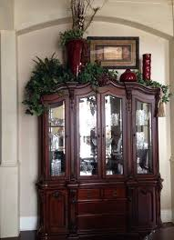 ideas china hutch decor pinterest: china cabinet decoration i would use different colors but i like the varied heights add lights to the greens kitchen decoration ideas
