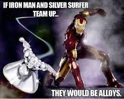 FunniestMemes.com - Funniest Memes - [If Iron Man And Silver ... via Relatably.com