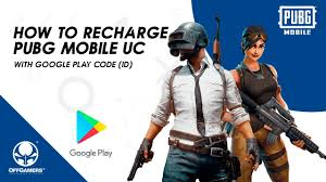 How to Recharge PUBG Mobile UC with Google Play Gift Card (ID ...