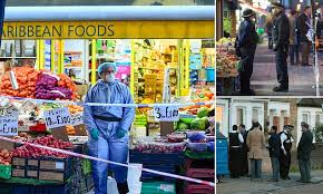 Man in his 40s 'is hacked to death in a <b>machete</b> attack' on northwest ...