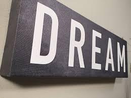 dream wall decor  dream wall art canvas wall decor home decor canvas art dream print