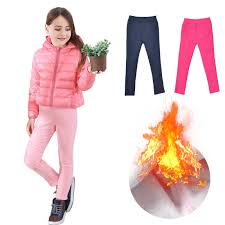 <b>Girls Leggings</b> Thicken <b>Autumn Winter</b> Children Warm <b>Pants</b> For ...