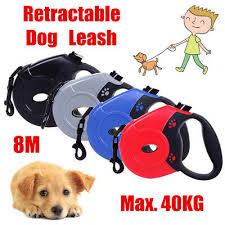 <b>8M 40kg</b> uto <b>Retractable</b> Pet Dog Leash djustable Puppy Chain ...