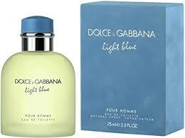 <b>Dolce & Gabbana Light Blue Pour</b> Homme Eau de Toilette spray 75 ml