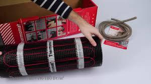 <b>Теплый пол Thermomat</b> мощностью 180 Вт/м² - Термомаркет