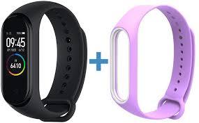 Купить фитнес-браслет <b>Xiaomi Mi</b> Band 4 + <b>сменный ремешок</b> ...