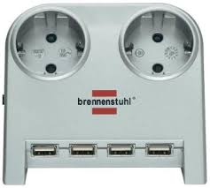 Удлинитель <b>Brennenstuhl Desktop</b>-<b>Power</b> 1,8м (1153540122 ...