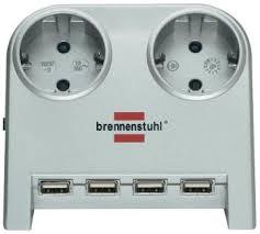 Удлинитель <b>Brennenstuhl Desktop</b>-<b>Power</b> 1,8м (1153540122 ...