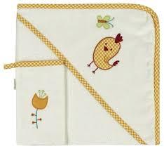 <b>Kidboo Комплект полотенце</b>-уголок+варежка Цыпленок — купить ...