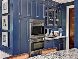 painted blue kitchen cabinets house: tags original karen soojian navy blue kitchenjpgrendhgtvcom