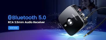 Ugreen <b>Wireless Bluetooth</b> 5.0 <b>Receiver</b> 3.5mm Jack APTX LL AUX ...