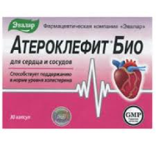 <b>Атероклефит Био капс</b>. 250 мг №<b>60</b>, Эвалар ЗАО