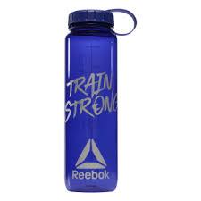 Reebok <b>Бутылка для воды</b> Train Strong Wide Mouth <b>1</b> л - синий ...